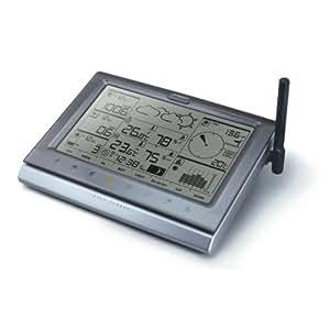 Oregon Scientific Wettemess-System WMR200 WMR 200 mit Touch Screen - Data Logger - Solar Panel