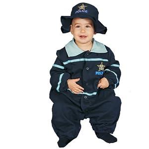 Dress Up America Disfraz de Oficial de policía Lindo bebé
