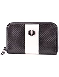 Fred Perry Homme MCBI128203O Noir Cuir Portefeuille