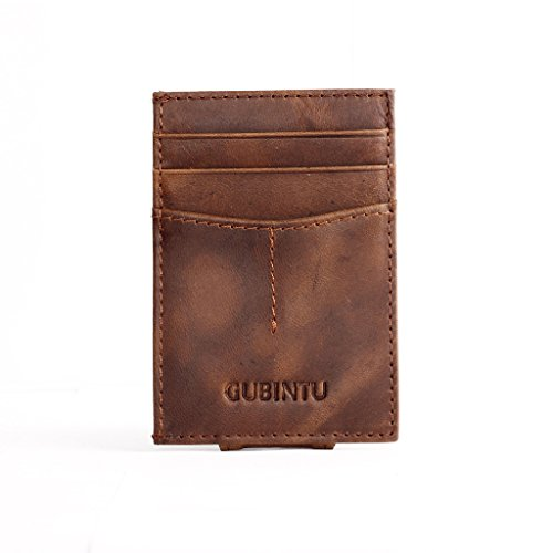 Homme Clip de L'argent Portefeuille Porte Cartes de Crédit