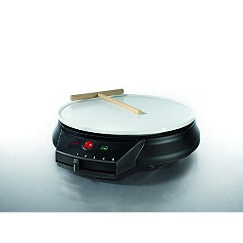 GOURMETmaxx 03112 Professional Crepe Maker for Homemade Crepes | Electric Crepe Maker | Non Stick | 1000 Watt