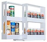 UPP® Étagère à épices extensible/universelle étagère/Orga système de rangement/rangement/étagère/meuble étagère Cuisine/médicament/badorga/Organiseur/nische Étagère