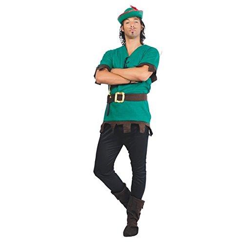 GUI - Disguise - Herren Robin - Für Erwachsene Wald Prinz Kostüm