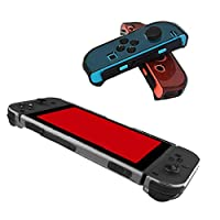 Tenthree Protective Case Cover - TPU Clear Cover Case for Nintendo Switch and Switch Joy-Con Controller (Thin Black)