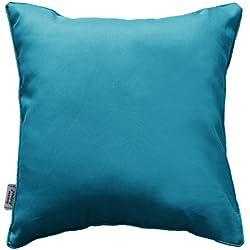 douceur d'intérieur coussin 40x40cm essentiel bleu