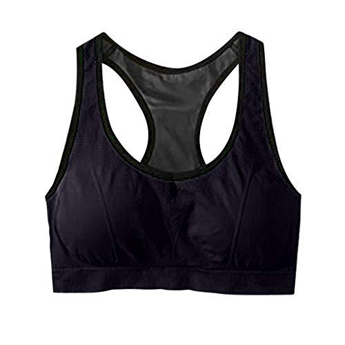 Damen Sport-BHs High Impact Workout Gym Active Wear Yoga Top