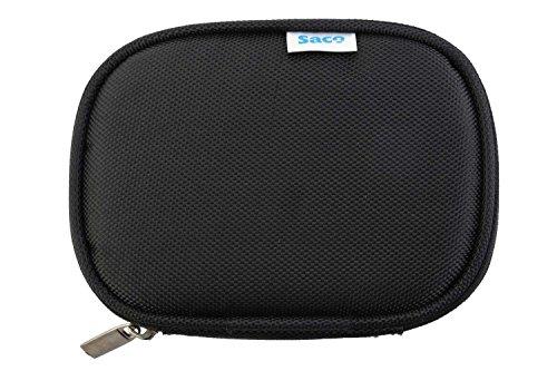 Saco Shock Proof External Hard Disk Case for Maxtor 2TB M3 Portable External Hard Drive (HX-M201TCB/GM)- Black