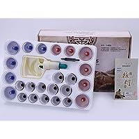 BG-YUFI YF Schröpfglas, 24-Pack-Starke Haushaltsluft Pumpt Nicht-Glas magnetische Vakuum Schröpfmaschine - preisvergleich bei billige-tabletten.eu