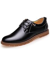 Zapatos Casuales De Moda De Invierno De Los Hombres Cómodos Zapatos Planos De Lona Zapatos De Alta Ayuda,Black-25(cm)=9.84(in)=EU39=UK6