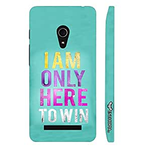 Asus Zenfone 6 The Champion designer mobile hard shell case by Enthopia