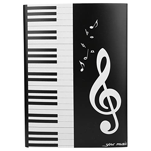 Bnineteenteam Musiknotenordner Musikordner Papierdokumente Klavierordner für Verschiedene Instrumentenspieler, Musiker
