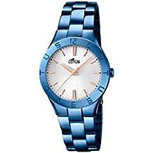 dca63a58caf9 Lotus – Reloj de Pulsera analógico para Mujer Cuarzo Acero ...