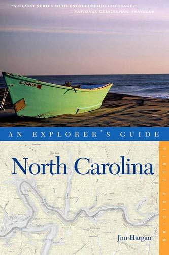 An Explorer's Guide North Carolina (Explorer's Guides)