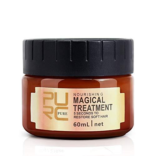 PURC Masque Capillaire, Magical Traitement Nourrissant Doux (60 Ml)