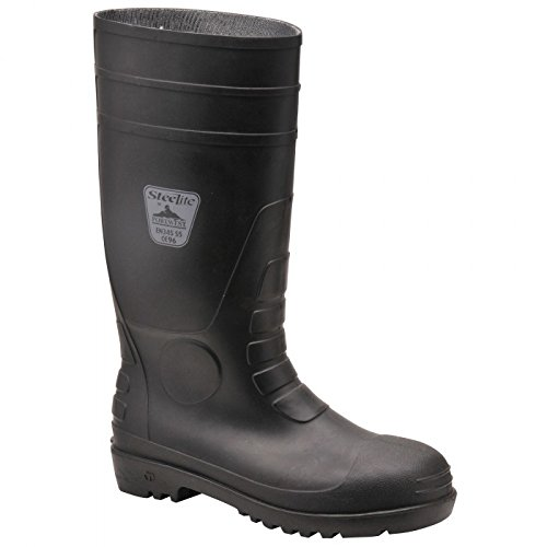 Portwest Steelite Total Safety Wellington S5, Chaussures de sécurité homme