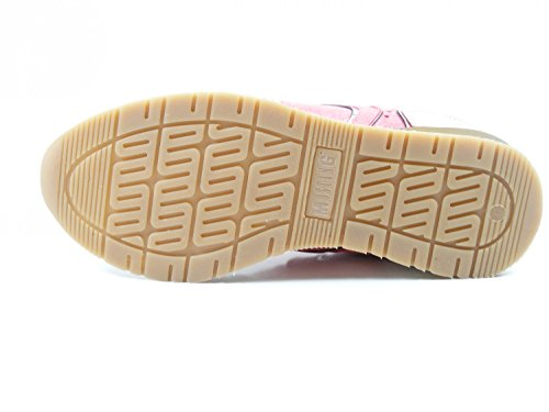 Mustang 2855-302 Womens Lace-up Flats Pink