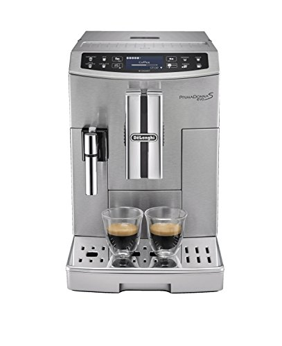 41hVSL5NFgL - De'Longhi Primadonna S Evo, Fully Automatic Bean to Cup Coffee Machine, Espresso and Cappuccino Maker,Stainless Steel…