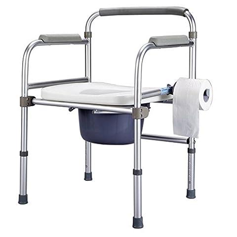 SHKD Healthcare Portable Folding Kommode Stuhl und WC Surround Old