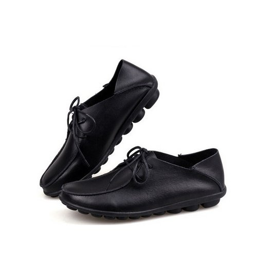 Mocassin femme, Mocassin en cuir, chaussures à lacets, Mocassins en cuir veritable, mocassin femme tendance mode 2015 Orange