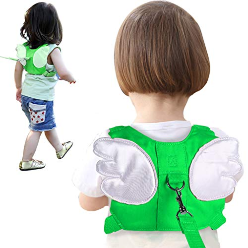 LY-LD Anti Lost Rucksack Baby Safety Walking Harness Leashes Für Kleinkinder Outdoor Safety Hook and Loop Belt 1-5 Old Kids,D