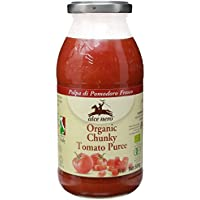 Alce Nero Tomate Con Pulpa - 12 Paquetes de 500 gr - Total: 6000 gr