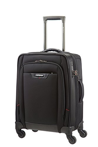 Price comparison product image Samsonite Pro-DLX Spinner Expandable 55cm / 20inch Black Business Cabin Case