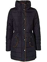 Vero Moda Macro 3/4 Down Jacket - Black