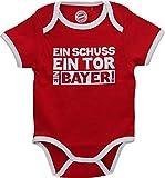 FC Bayern München Baby Body Ein Bayer 62-68