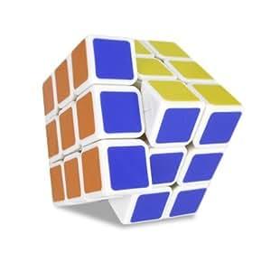 Zauberwürfel - Speedcube Dayan III (LingYun) - Weiß - inkl. Cubikon-Tasche