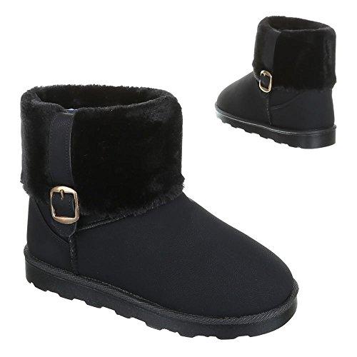 Enfants chaussures 2010, bOOTS usé, bottes fille Noir - Noir