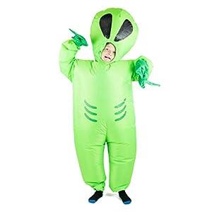 Bodysocks® Disfraz Hinchable de Extraterrestre Niño
