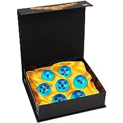 Bolas del Dragón DragonBall [7PCS],Vococal® DragonBall Z Bolas de Dragón 1 a 7 Estrellas con Caja de Regalo, Regalo de Navidad para Coleccionar o Regalar para Niños/Anime Amante - Diámetro 4,2CM