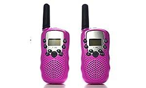 J & Y 7111601315981 Walkie Talkie, Color Rosa