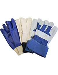 Mens triple value pack Gloves (large)