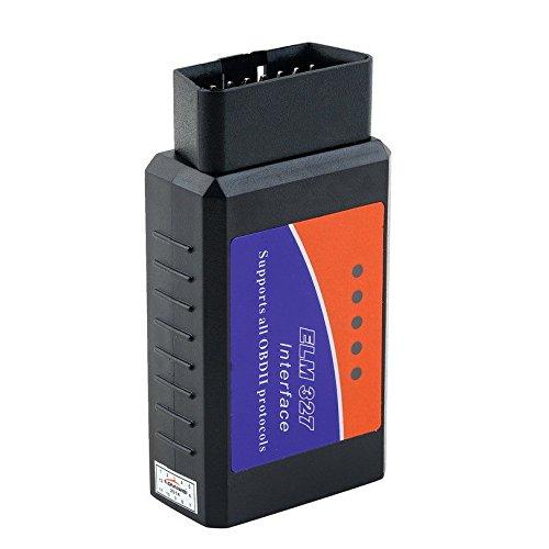 ELM327OBDII OBD2Bluetooth Auto herramienta de diagnóstico escáner lector de código de toyfun