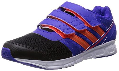 Adidas Performance Hyperfast, Chaussures de sports en salle Mixte Enfant Multicolore (night Flash S15/solar Red/core Black)