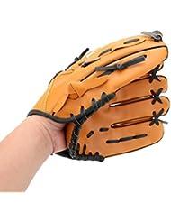 WINOMO Gant de Baseball 10.5 Pouces Main Gauche Pour Les Sports D'Equipe Extérieure (Jaune)