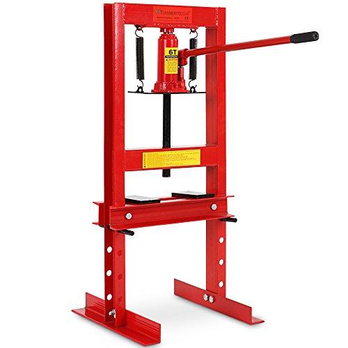 Werkstattpresse inkl. Hydraulikpumpe und 2x Druckplatten Hydraulikpresse 6T