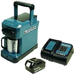 Makita DCM 501 Machine à café sans fil avec batterie 5 Ah et chargeur