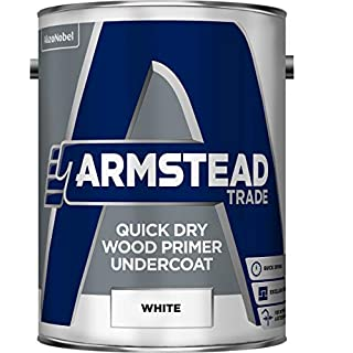 Armstead Trade Quick Dry Wood Primer Undercoat 5 Litres