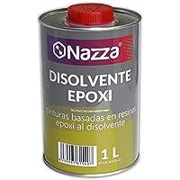 Disolvente para Epoxi Nazza   Para limpiar herramientas y productos con base epoxídica   Envase Metálico de 1 Litro
