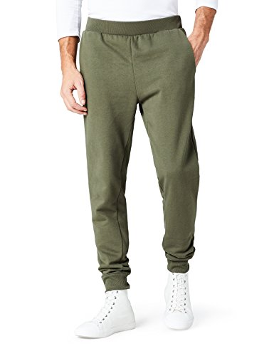 FIND Pantaloni Sportivi Regular Fit Uomo Verde
