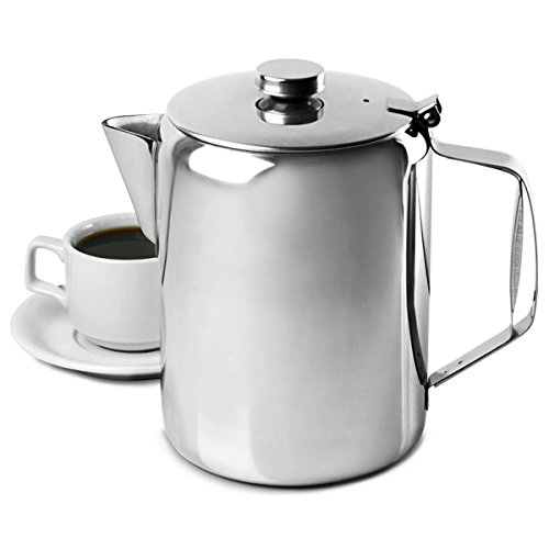 King International Restaurant Stainless Steel 1000 ml Teapot Water Kettle Pitcher Coffee...