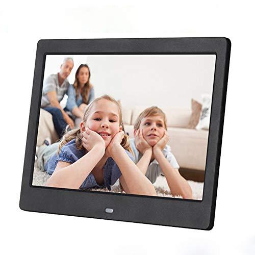 CITW 10-Zoll-Widescreen HD LED Elektronische Fotoalbum LCD Digitale Bilderrahmen Wandbehang Werbemaschine Business-Geschenke,Black - Widescreen-hd-lcd
