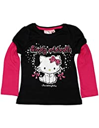 Hello Kitty Official Girls T-Shirt Long Sleeve Age 3/8 Years