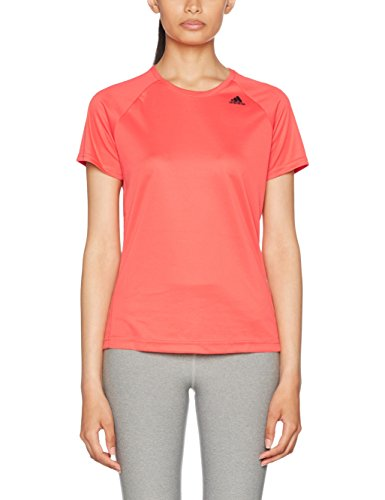 adidas Damen Designt to Move T-Shirt, Easy Coral, L