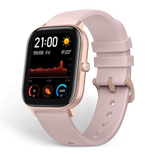 Oferta de Amazfit GTS Smartwatch Fitness tracker con multitud de perfiles de actividad físcia y con GPS embebido, resistencia al agua 5 ATM (Rosa)