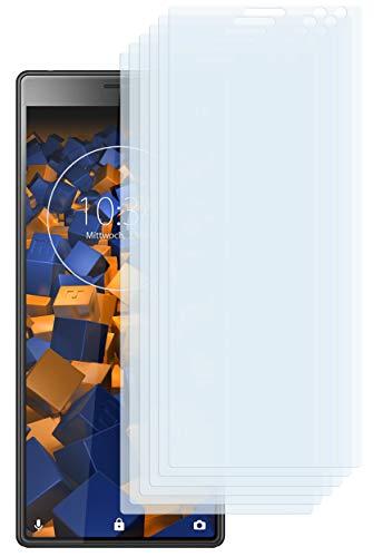 mumbi Schutzfolie kompatibel mit Sony Xperia 10 Folie klar, Bildschirmschutzfolie (6X)