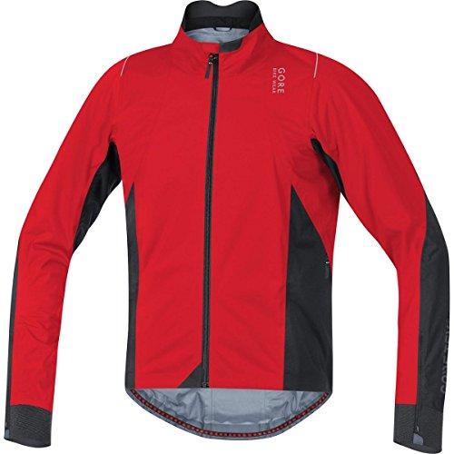 Gore Bike WEAR Herren Rennradjacke, Gore-TEX Active, Oxygen 2.0 GT AS Jacket, Größe: XL, Rot/Schwarz, JGOXYA