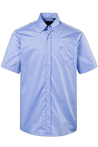 JP1880 Homme Grandes tailles Chemise manches courtes 706864 bleu clair